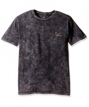 Rusty Splat Short Sleeve Black