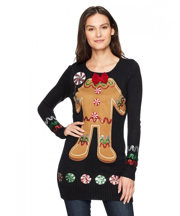 Blizzard Bay Womens Gingerbread Applique