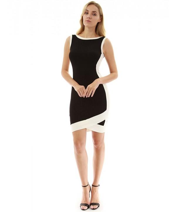 PattyBoutik Womens Sleeveless Tulip Dress