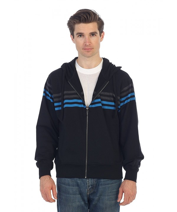 Gioberti French Striped Hoodie Sweater