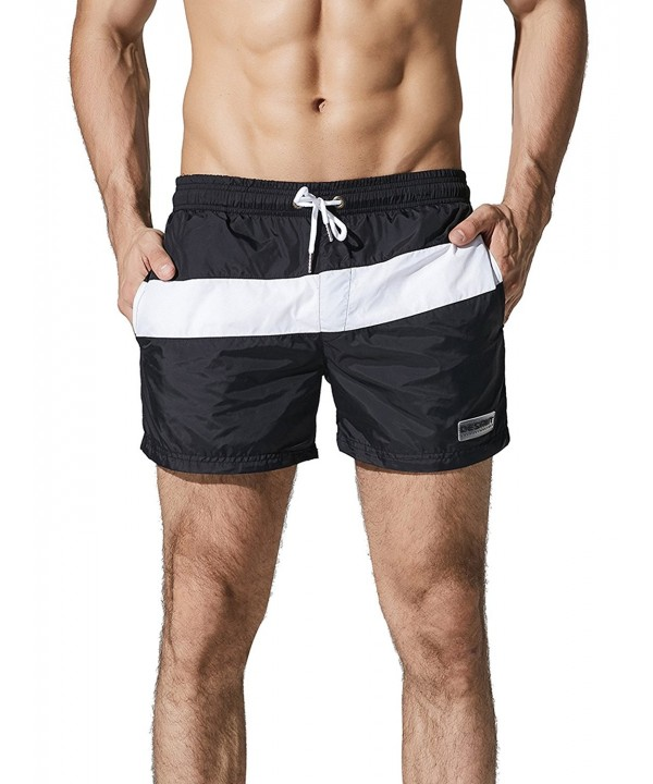 Neleus Beach Board Shorts Pockets
