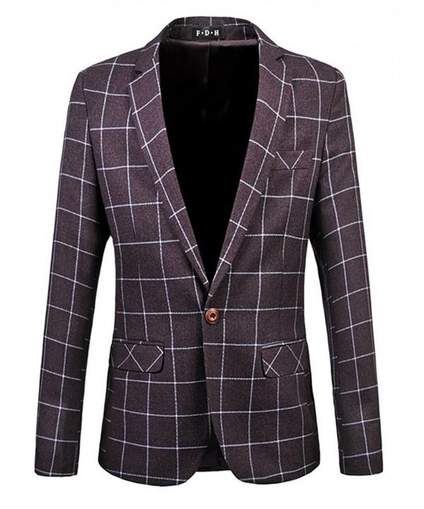 HZMK Button Center Blazer Jacket