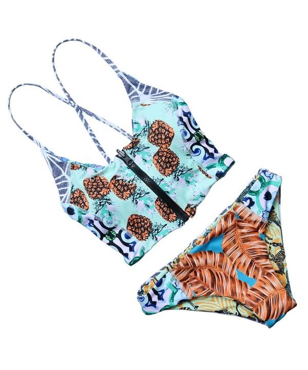 RUUHEE Padded Printed Bikini Swimsuit
