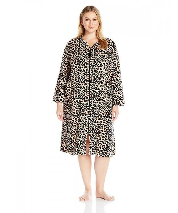 Miss Elaine Womens Leopard Print