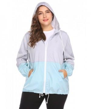 675d5005eab INVOLAND Womens Lightweight Waterproof Outdoor  Designer Women s Raincoats  Outlet  Popular Women s Coats Clearance ...