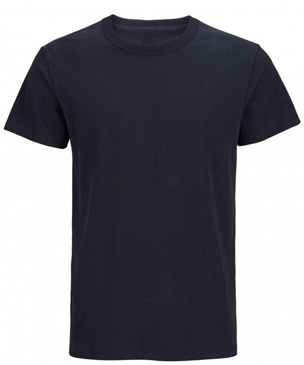 Solid Cotton Thick Sleeve T Shirts