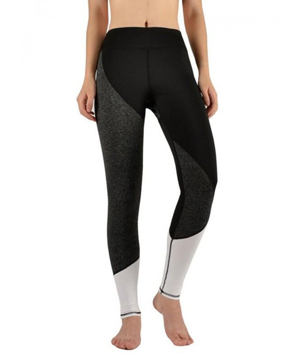 e201932e89aa5 ... Women's Colorblock Yoga Pants Tummy Control Workout Leggings - S170153  - C3185XOI4KI. On sale! New. Womens Stretch Color Leggings S170153