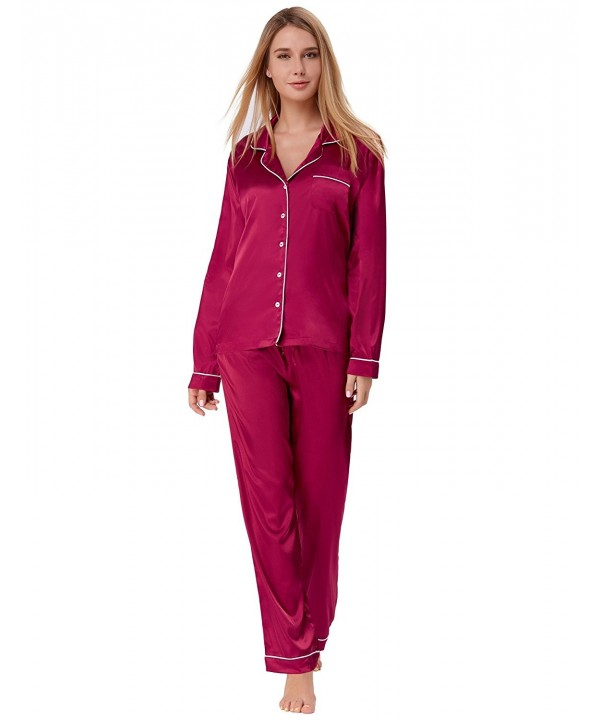 Button Pajamas Comfort Sleepwear ZE52 3