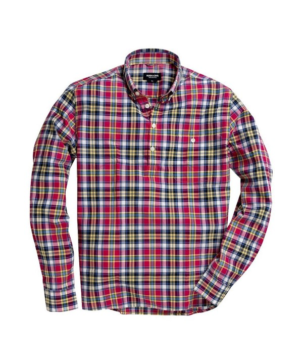 Hugh Crye Button Down Collar Casual