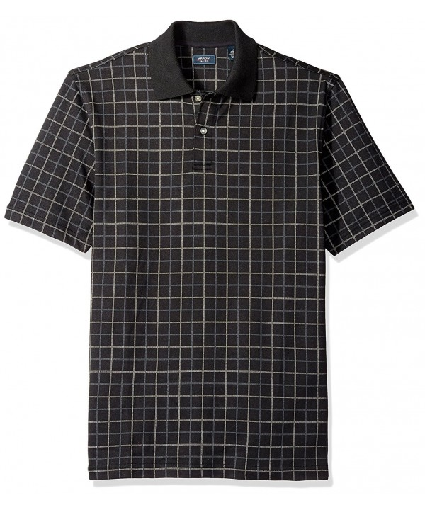 Arrow Sleeve Printed Windowpane Oxford