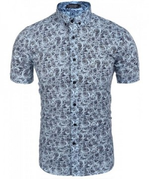 Simbama Floral Casual Sleeve Button