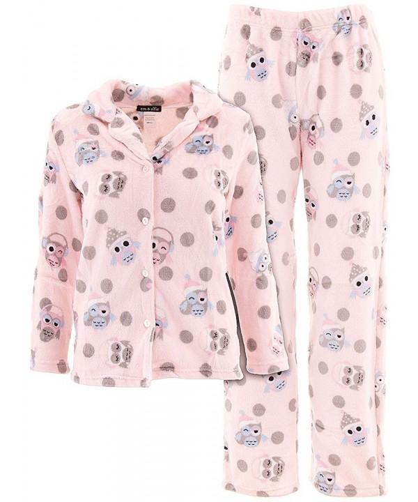 Em Alfie Juniors Plush Pajamas