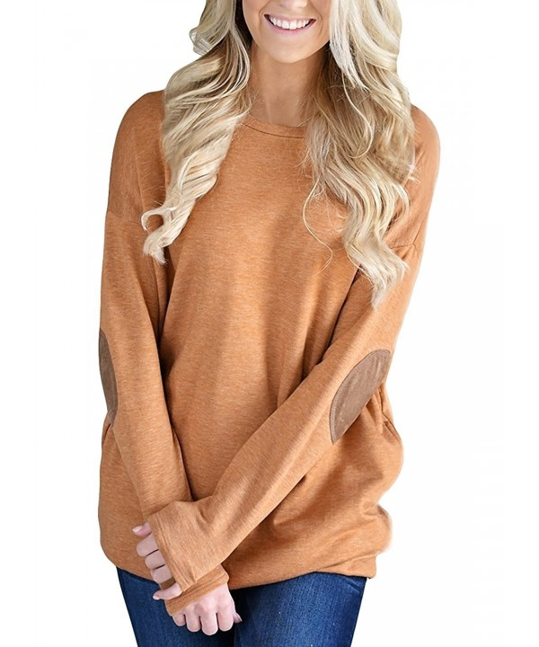 Women Casual Sleeve Crewneck Sweatshirt
