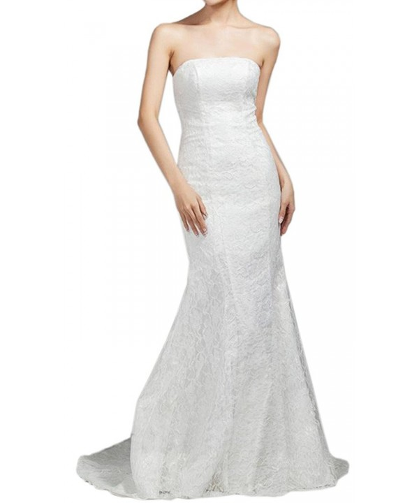 Eyekepper Bridesmaid Strapless Wedding Mermaid