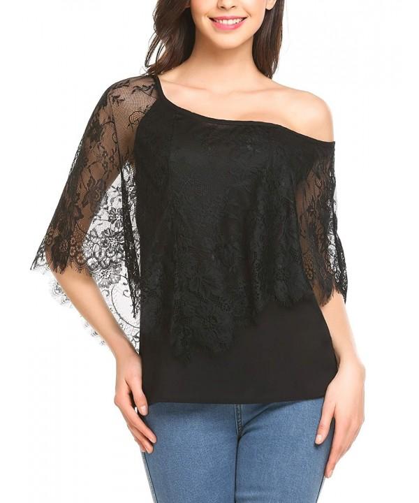 Dealwell Womens Shoulder Blouse Shirts