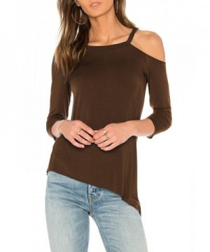 Mippo Fashion Shoulder Pullover Asymmetrical