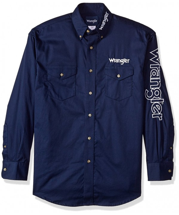 Wrangler Mens Pocket Sleeve Shirt