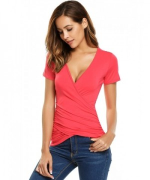 COSBEAUTY Cotton Deep Shirt Blouse