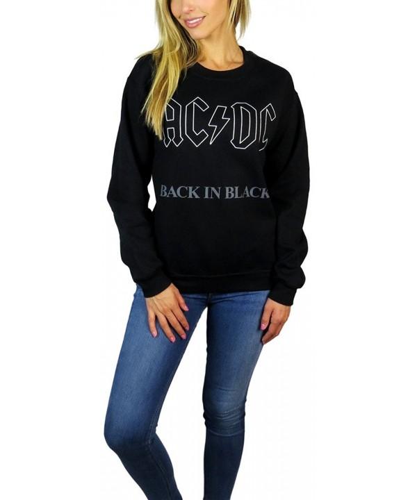 AC DC Womens Sweatshirt X large