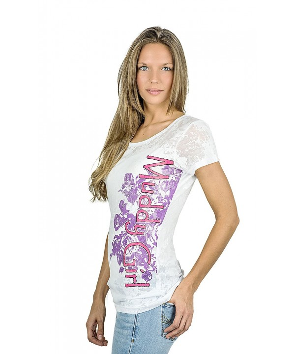 Moon Shine Camo Womens Burn out