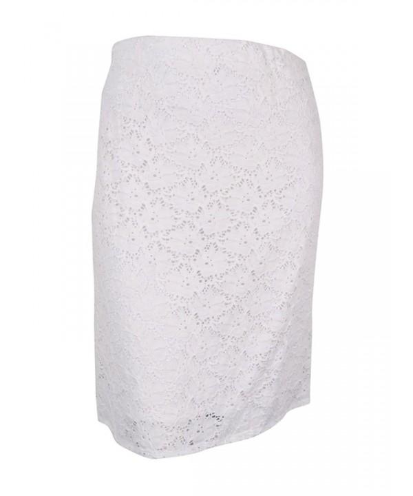 Alfani Womens Knee Length Pencil Skirt