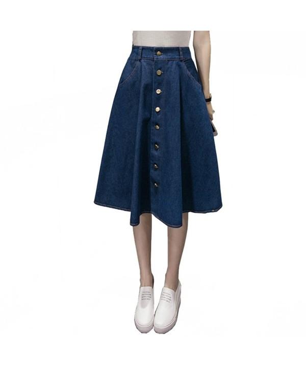 Gladden Womens Button Front Length
