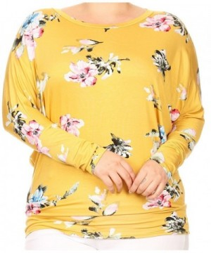 BNY Corner Dolman Sleeve Floral