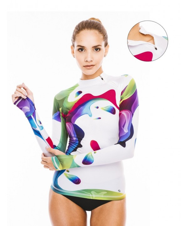 Platinum Sun Protection Rash Guard Swimsuit