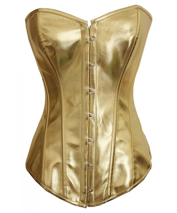 Alivila Y Fashion Steampunk Corset 2340A Gold M