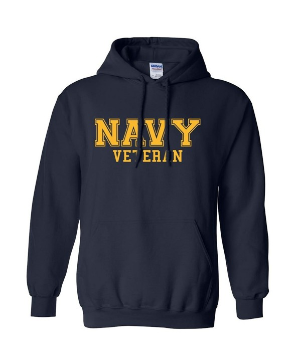 NAVY Veteran GOLD Hooded Sweatshirt
