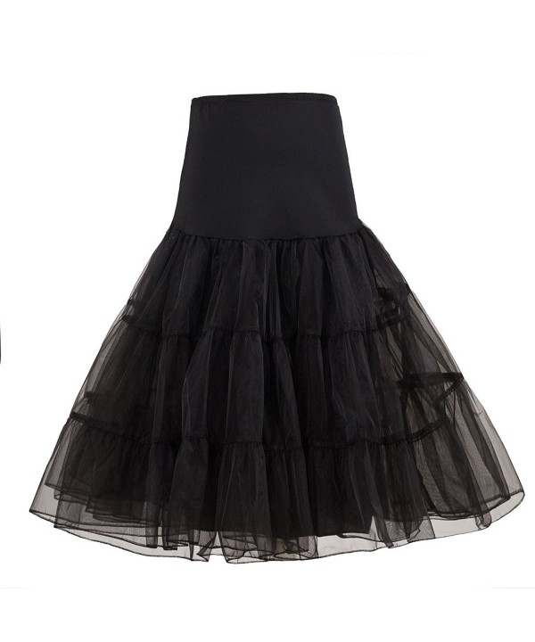 Bettertime Vintage Rockabilly Length Petticoat