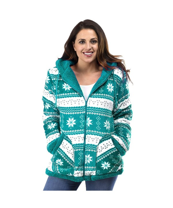 TrailCrest Ladies Sherpa Hooded Sweater