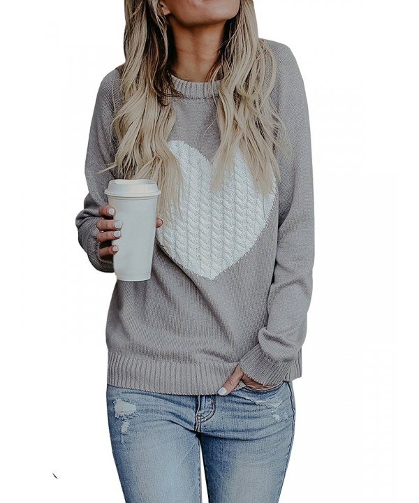 Bbalizko Womens Pullover Sweater Printed