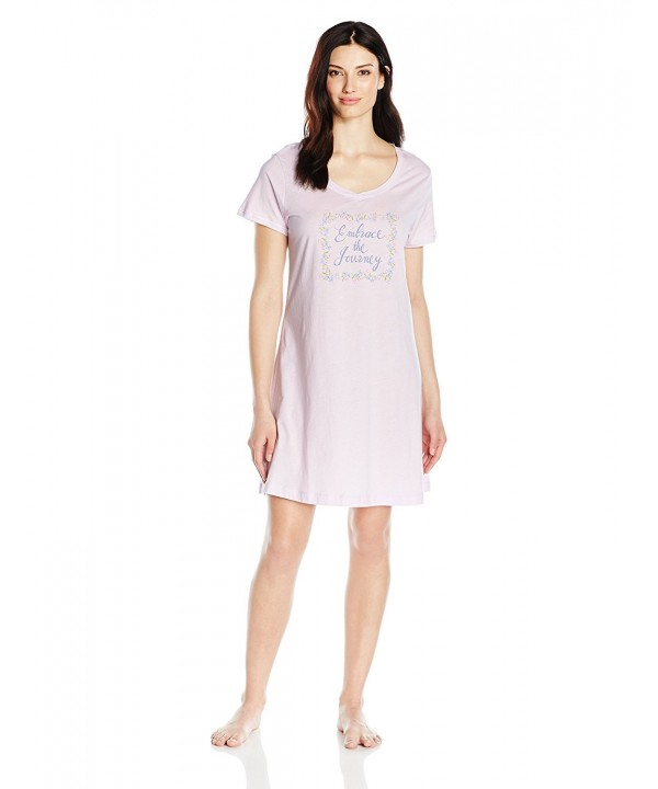 Carole Hochman Womens Cotton Sleepshirt