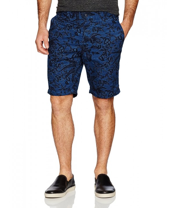 Nautica Mens Printed Front Short