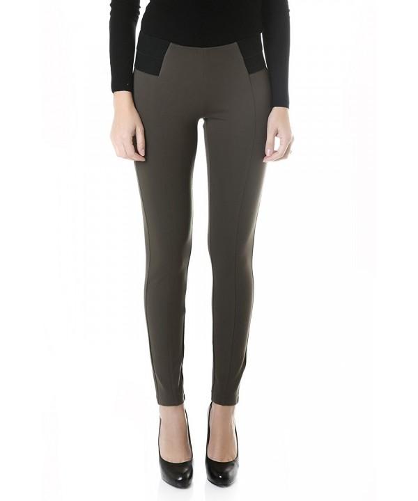 Suko Jeans Womens Ponte Pants