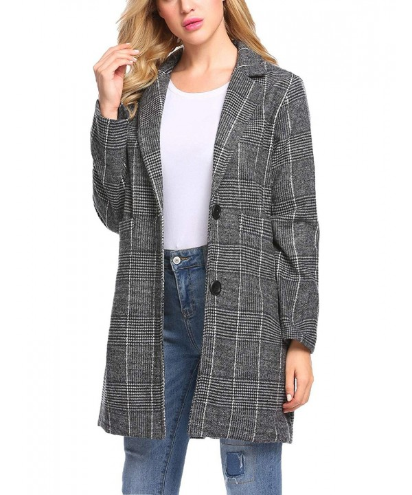 Etuoji Women Casual Single breasted Outerwear