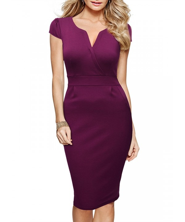 Miusol Womens Classicial Business Bodycon