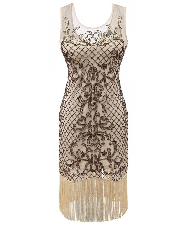 Izacu Flocc Gatsby Embroidery Dress145