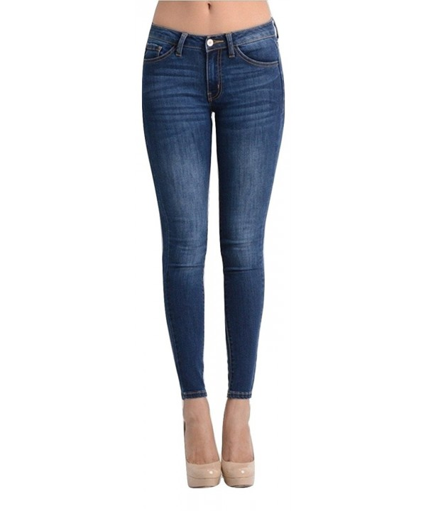 KAN CAN Womens Skinny Jeans