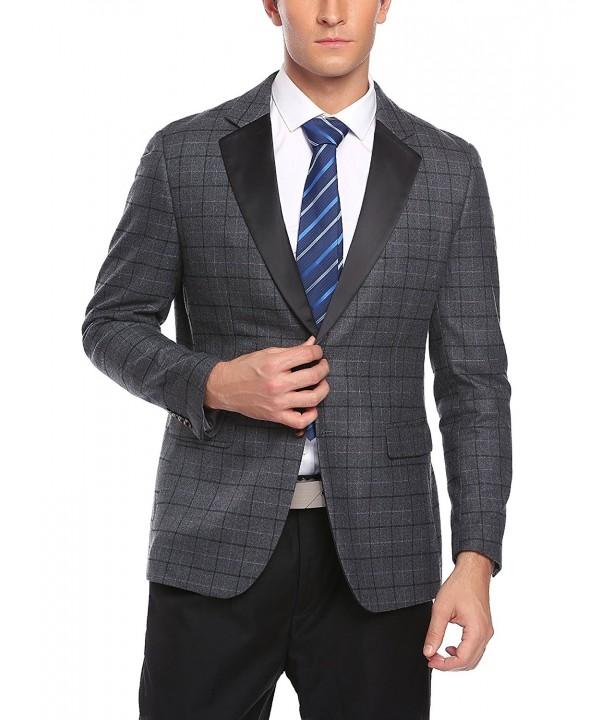 COOFANDY Button Casual Blazer Jacket