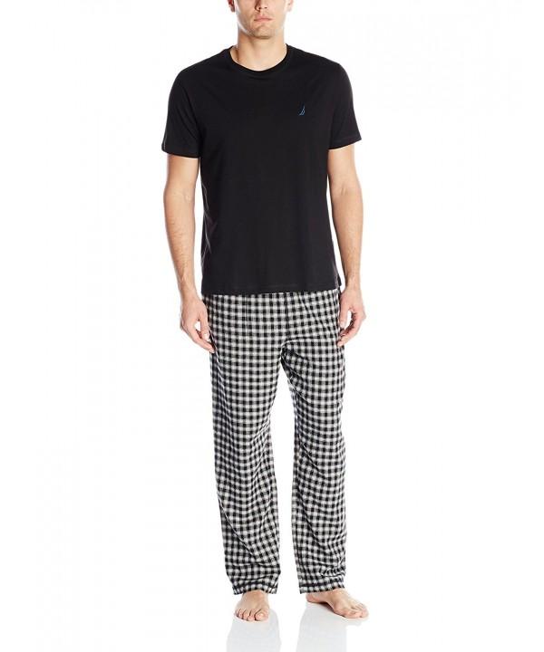 Nautica Short Sleeve Flannel Pajama