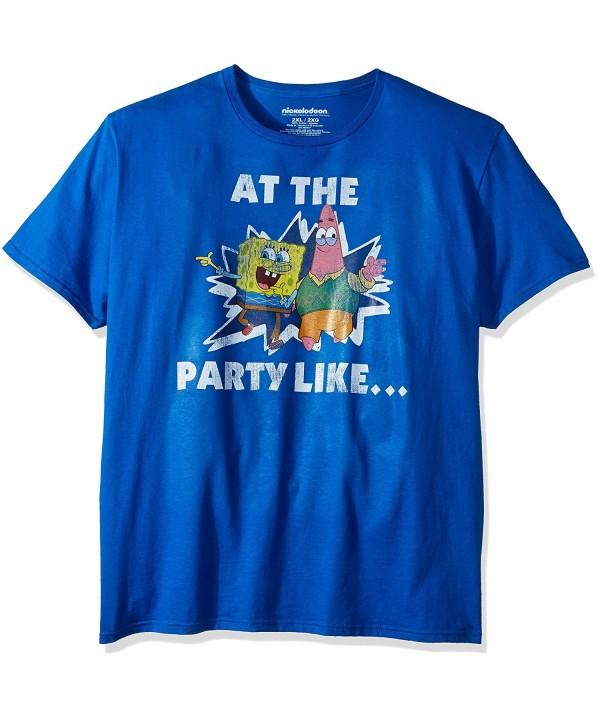 Nickelodeon Unisex Adults Spongebob Patrick T Shirt