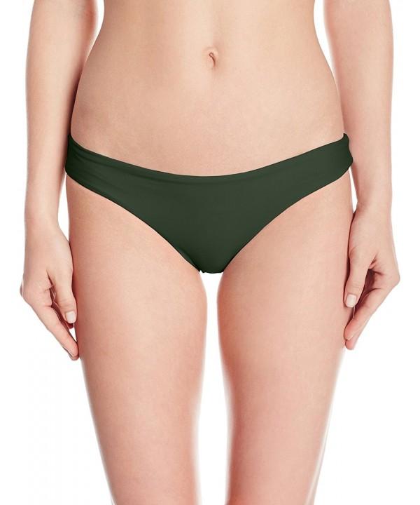 PilyQ Womens Ruched Seamless Bikini