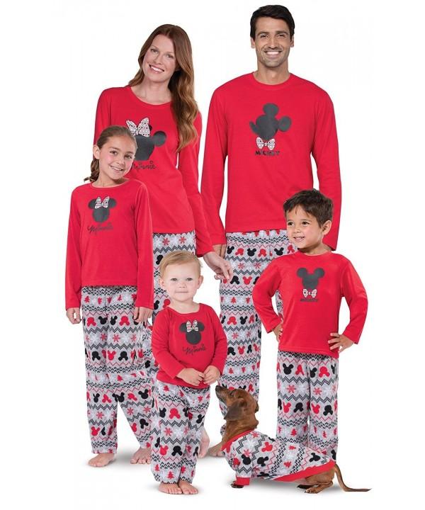 Mickey Minnie Matching Family Pajamas