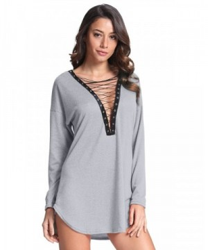 StyleDome Women Hollow Blouse Sleeve