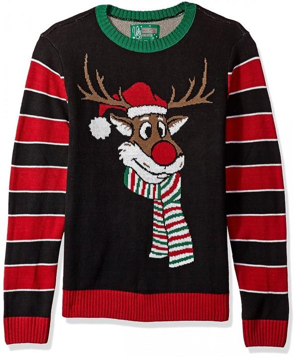 Ugly Christmas Sweater Reindeer Poopermints