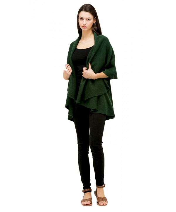 LOOK Basic Shawl Kelly Green