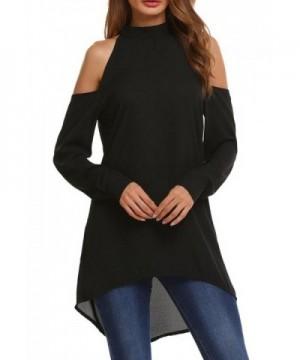 Soteer Womens Shoulder Cutouts Black L