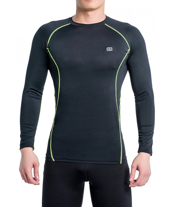 Beorbus Compression Skin Friendly Activewear Black Green